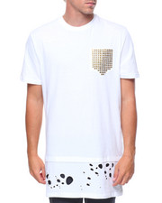 Shirts - S/S Midnight Studded Extended Tee