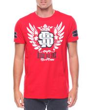 Shirts - S/S Reign Supreme Raised Letter T-shirt