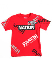 Tops - S/S One Nation Tee (4-7)