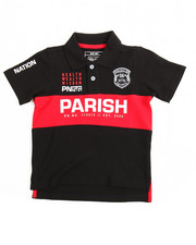 Parish - One Nation Cut & Sewn Polo (4-7)