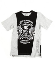 Boys - One Nation Cut & Sewn S/S  Tee (8-20)