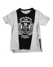 Tops - S/S One Nation Cut & Sewn Tee (2T-4T)