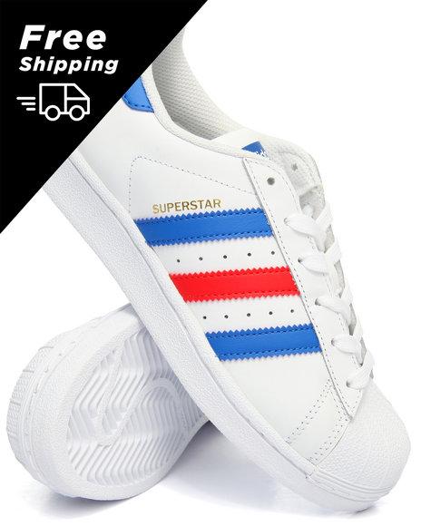 Adidas - SUPERSTAR J SNEAKERS (3.5-7)