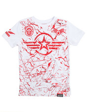 Tops - Americana Patch Printed Tee (8-20)