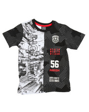 Tops - One Nation Split SS Tee (4-7)