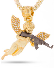 King Ice - 14k Gold Archangel Of Reprisal