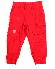 Boys - One Nation Canvas Jogger (2T-4T)
