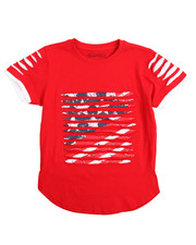 SWITCH - Switch Americana Razor Slashed Tee (4-7)
