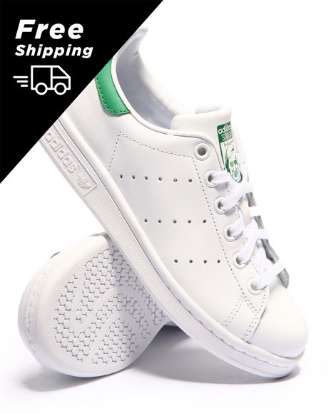 Adidas - Stan Smith J Sneakers (3.5-7)