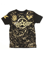 SWITCH - Switch Americana Patch Printed Tee (4-7)