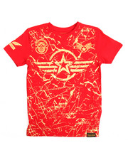 SWITCH - Americana Patch Printed Tee (8-20)