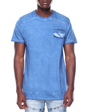 T-Shirts - S/S Pigment Wash Pocket Tee