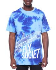 Flysociety - Tie Dye Plant Tee