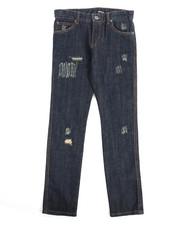 Jeans - Greenwich Grunge Slim Fit Jean With Repair (8-20)