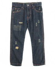Bottoms - Greenwich Grunge Slim Fit Jean With Repair (4-7)