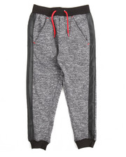 Bottoms - Marled French Terry Jogger (4-7)
