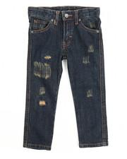 Boys - Greenwich Grunge Slim Fit Jean With Repair (2T-4T)