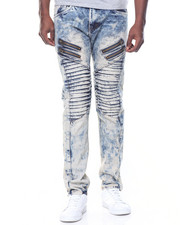 Men - Rips/ Zippers Motto Jeans