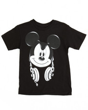 Boys - Mickey Headphones Tee (4-20)
