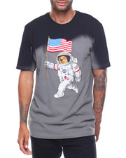T-Shirts - Space Bear Washed Tee