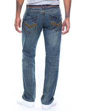 Straight - Premium Belted Jeans