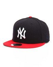 Men - 9Fifty Navy/Red Yankees Flag Snapback