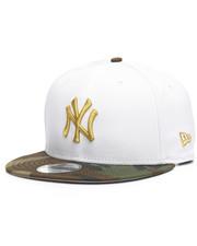 NBA, MLB, NFL Gear - 9Fifty White Camo Yankees Flag Snapback