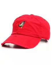Buyers Picks - Vintage Distressed Praying Hands Rosary Dad Hat