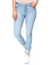 Bottoms - 5 Pocket Hi-Cuff Jeans