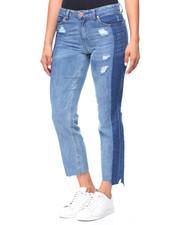 Bottoms - 2-Tone 5 Pocket Jeans