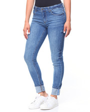 Women - 5 Pocket Hi-Cuff Jeans