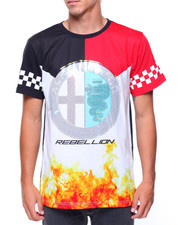 T-Shirts - S/S Rebellion Flame Tee