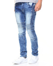 Buyers Picks - Bleach Blue 5 Pocket Trim Jean