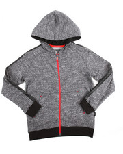 Sizes 8-20 - Big Kids - Marled French Terry Hoody (8-20)