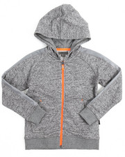 Boys - Marled French Terry Hoody (4-7)