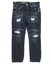 Boys - Grid Denim Pant (4-7)