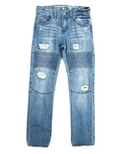 Jeans - Grid Denim Jeans (8-20)-2118071