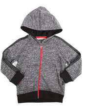 Boys - Marled French Terry Hoody (2T-4T)
