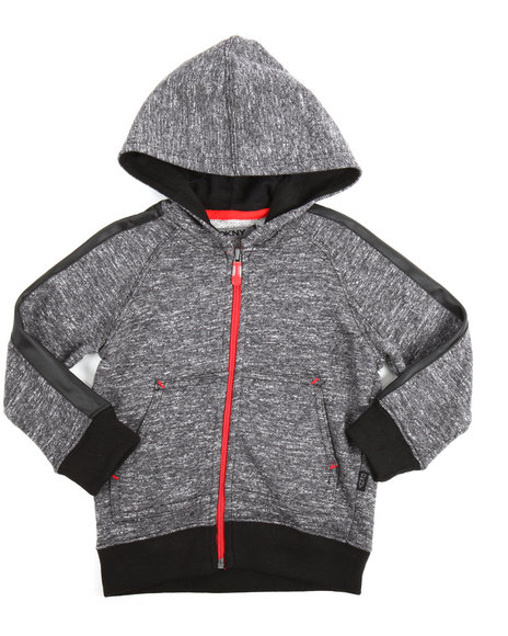 DKNY Jeans - Marled French Terry Hoody (2T-4T)
