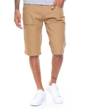 Men - Cell Phone Pkt. Twill Shorts