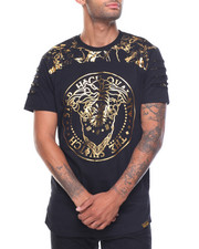 Shirts - Foil Print Embossed Tee