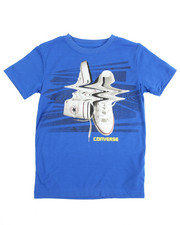 Boys - S/S Shifted Chucks Tee (8-20)