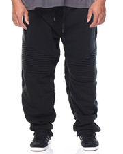 Men - Biker Fleece Long Joggers (B&T)