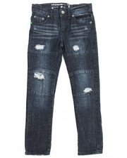 Boys - Grid Denim Pant (8-20)
