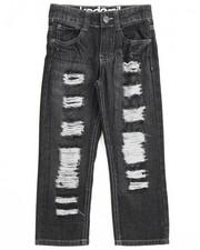 Akademiks - Rip & Repair Denim Jeans (4-7)