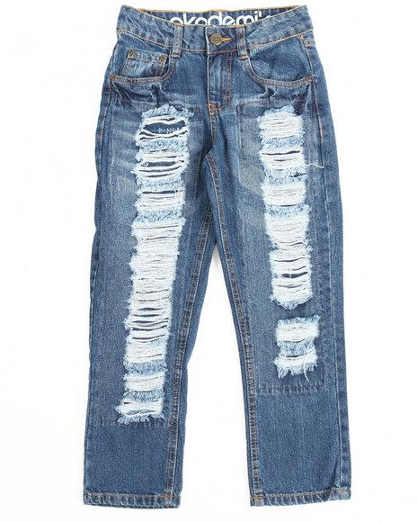 Akademiks - Rip & Repair Denim Jeans (8-20)