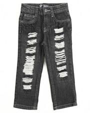 Akademiks - Rip & Repair Denim Jeans (2T-4T)