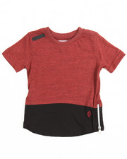 Ecko - Marled Color Block Elongated Tee (2T-4T)