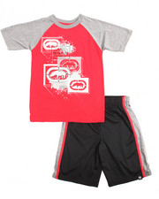 Ecko - 2 Piece Rhinos & Paint Splatter Short Set (8-20