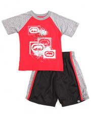 Ecko - 2 Piece Rhinos & Paint Splatter Short Set (4-7)
